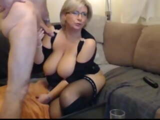 Busty mature wife has rough fuck