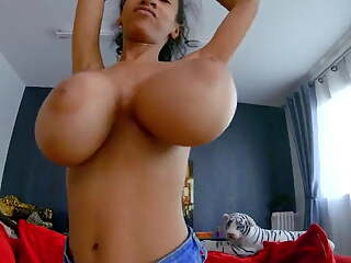 Busty Slim Archives -- Huge Floppy Saggy Tits on Tiny Dancer