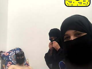 Arab from Kuwait in a niqab
