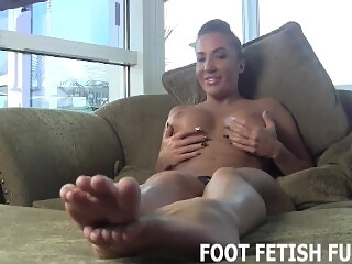 Femdom Foot Massage And POV Foot Fetish Porn