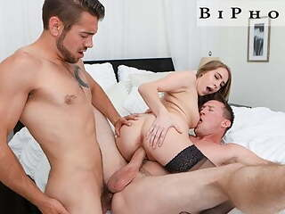 BiPhoria - Cadence Lux Has Wild Sex With Her 2 Husbands