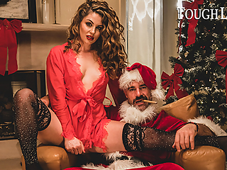 TOUGHLOVEX, Crystal Taylor has a present for Bad Santa X
