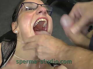 Cum Cum Secretary Nora - Sperma-Studio - Long Clip