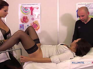 Fucking in Nylon Stockings, Doctor and Nurse in HD