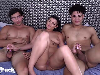 Channing With The Big Dick Pounds French Model Joe and PAWG!