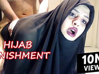 ARAB HIJAB HARDCORE PUNISHMENT
