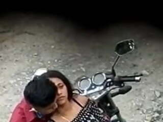 hot Indian girl fucking bf in public