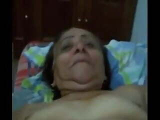 very old slut with a big hole