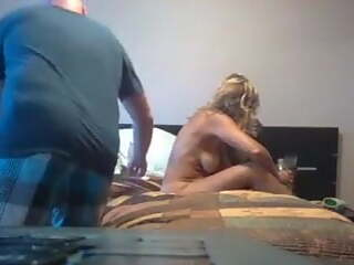 Hotwife gets pounded by BBC as hubby joins in, part 2