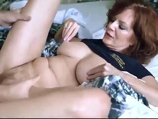 Horny mature wife has sex with boss