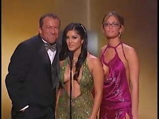 Sunny Leone's onstage appearances at the avn awards 2006-2012