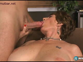 Mature facial compilation - Granny gets plastered with jizz