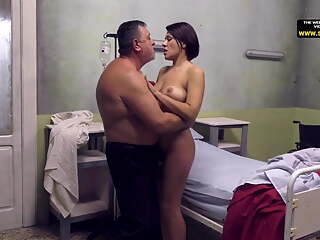 Old man Eddie Tricked Busty Married Girl
