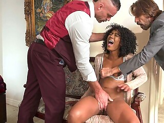 Boss' Wife Misty Stone Wants Coworkers' Cock