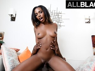 AllBlackX - Sexy Lacey London Takes A Thick Dick & Begs For More