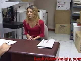Backroom Facials - 06 - Andrea