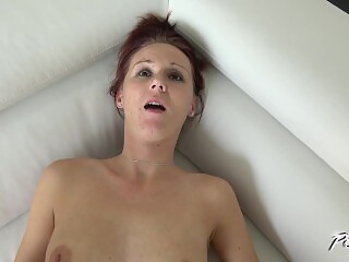 Hot skinny mom enjoy big strangers cock well