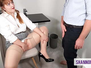 I'll Do Anything To Keep My Job - Filthy Office Slut
