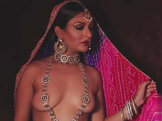 Khushu Mukherjee Traditional Costume Topless