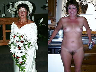 WEDDING DAY BRIDES (Dressed and Undressed)