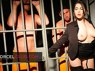 Valentina Nappi, the sexy jail director
