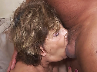 deepthroat with 79 year old mom