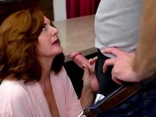 Step-Mom Andi James is sexted her Son's Cock