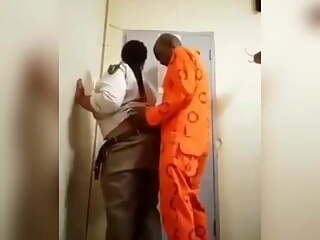 man fucks police women in jailhouse