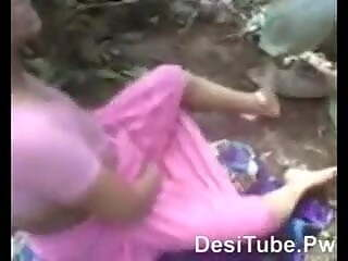 Indian Desi girlfriend Fucking her boyfriend in the Forest 9