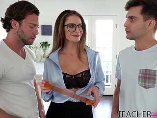 Silvia Saige - Who Wants To Be Teacher's Pet?