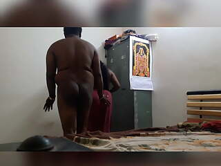 Indian chubby aunty fucking uncle