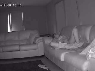 Sister-in-Law Caught Masturbating on My Couch – Hidden Cam