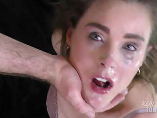 DUMB SLUT USED FOR A FACEFUCK