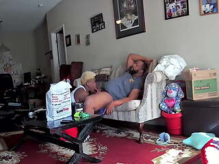 Caught on the Nanny Cam Fucking a Friend