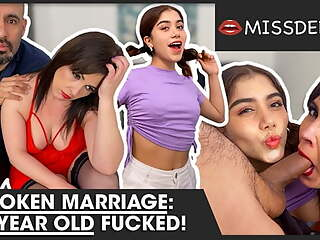 Marriage broken, 18 year old banged! MISSDEEP.com
