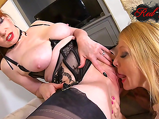 Red XXX and Lucy Gresty get down and dirty