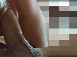 Another close-up fuck with precum inside